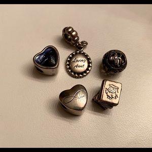 Pandora and Miscellaneous Charms